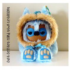 $65.00 Bunting Yeticub by CuteCritters on Handmade Australia