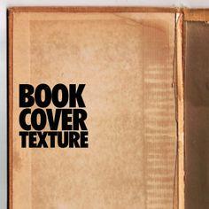 古い本のカバーを撮影したテクスチャ5枚セット「Book Cover Texture」