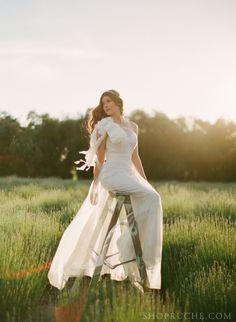 Lace & Lavender: Angeline #bridal gown