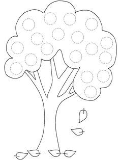 spark math How many apples on the tree? apple tree templates