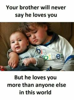 Best Brother Quotes And Sibling Sayings Best Place to Collect Daily Boost with Motivational Quotes, Health Tips and Many More.Best Brother Quotes And Sibling Sayings- Best Brother Brother Sister Love Quotes, Brother And Sister Relationship, Sister Quotes Funny, Brother And Sister Love, Bff Quotes, Girly Quotes, Cute Quotes, Funny Quotes, Qoutes