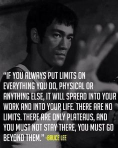 Plateaus are the downfall of most peoples martial arts training, diets, exercise routines, jobs, relationships , the list goes on!