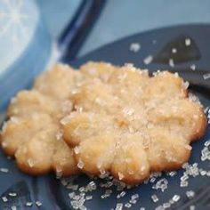 Butter Snow Flakes - One of THE BEST cookies EVER. I made some with the press and a batch as thumbprints too. I tried raspberry preserves and apricot preserves. They were ALL so delicate and YUMMY
