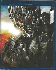 Transformers: Revenge of the Fallen (Blu-ray Disc, 2009) Missing outer cardboard