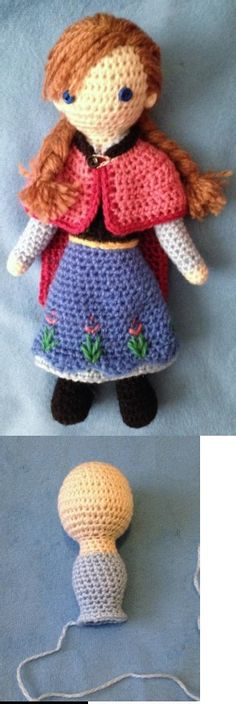 Anna Crocheted Doll Pattern