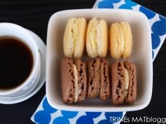French macarons Snack Recipes, Cooking Recipes, Snacks, Macarons, French Toast, Bakery, Food And Drink, Sweets, Cookies