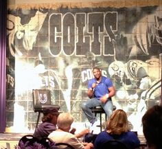 From troubled follower to community leader...the path of Colts tight end Dwayne Allen