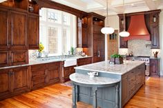 Useful and Practical Kitchen Island Cabinets:Royal Kitchen Island Cabinets  Chocolate Kitchen Island Cabinets Color Designs by lissandra.villano