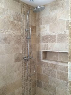 Salle de bain travertin douche italienne niche http://s.click.aliexpress.com/e/mUjYNBM