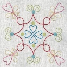 """""""United Stitches - 11"""" designed by Rosalie Dekker for Rosalie Dekkar Designs."""