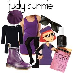 """Judy Funnie - Doug"" by lilyelizajane on Polyvore"