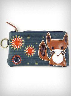 Mod Fox Cosmetic Bag | PLASTICLAND