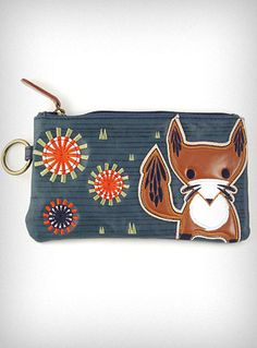 Fox Cosmetic Bag