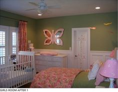 Shared kids room ideas...baby and toddler