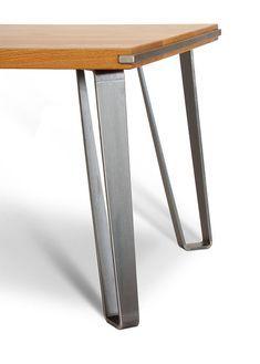 Industrial Metal Tapered Coffee Table Leg 16 In 2020 Stahltisch Tischbeine Metall Tischbeine