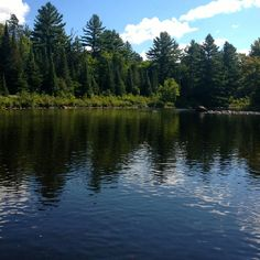 On the paint River in Iron Mountain County, MI