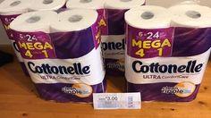 Cottonelle MEGA Roll Bath Tissue, Only $3.12 During Kroger Mega Event! http://heresyoursavings.com/cottonelle-mega-roll-bath-tissue-3-12-kroger-mega-event/
