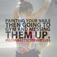 Totally worth it for gymnastics Gymnastics Facts, Gymnastics Posters, Gymnastics Workout, Gymnastics Girls, Rhythmic Gymnastics, Gymnastics Stuff, Inspirational Gymnastics Quotes, Gym Quote, World Of Sports