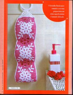 Free Crochet Patterns For Toilet Tissue Holders : 1000+ images about Crochet Bathroom on Pinterest ...