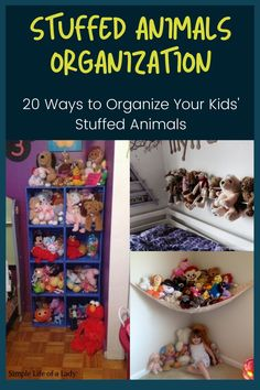 Organizing your kids' stuffed animals