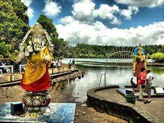 The shortage of water in the Ganga Talao lake, Mauritius