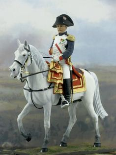 napoleon mounted 1811 napoleonic war tin soldiers historical miniatures 54mm kit models 54mm anno cavallo cheval horse military miniatures napoleonic figures toy soldiers sul year
