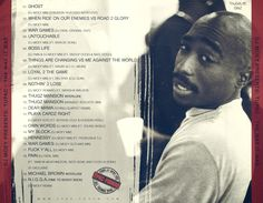 DJ Moey presents: Tupac - The Way It Was (back)