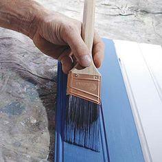 """HOW to: Paint with """"Sprayed-On"""" Results -- -- You've seen it—trim painted so smooth and free of brushstrokes that it looks factory coated - Tutorial"""