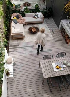 The terrace of interior designer Anna Carin McNamara. You can read more about her renovation process on The Generalist.