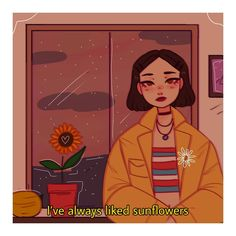 """This is basically the introduction (if you can call it that, because I honestly don't know what I did) of my story called """"Sunflowers… Aesthetic Drawing, Aesthetic Anime, Aesthetic Art, Arte Do Kawaii, Kawaii Art, Nature Girl, Character Art, Character Design, Arte Obscura"""