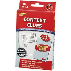 Context Clues Cards (small group)   # Pinterest++ for iPad #