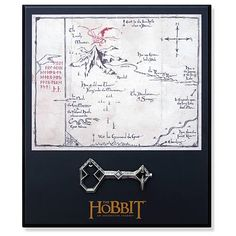 The Hobbit Thorin Oakenshield Key and Map Prop Replica Set - Noble Collection - Hobbit / Lord of the Rings - Prop Replicas at Entertainment Earth