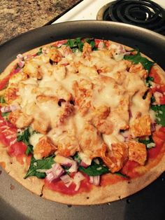 Fix Approved Buffalo Chicken Pizza