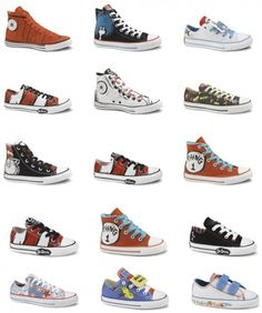 In case you couldn't tell, I'm DYING for a pair if dr Seuss converse!!