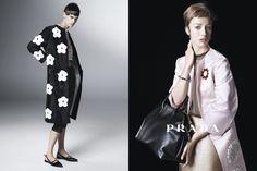 Prada Spring/Summer 2013 fashion campaign | a Campanha de Verão 2013 da Prada