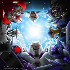 Megatron looks uber creepy but the idea of the pic is adorable :3 Decepticons http://ars-mortifera.tumblr.com/