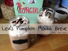 Levi's Pumpkin Mocha Breve (DIY version) | Emma Likes Books