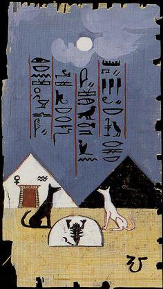 The Moon (The Egyptian Tarot)