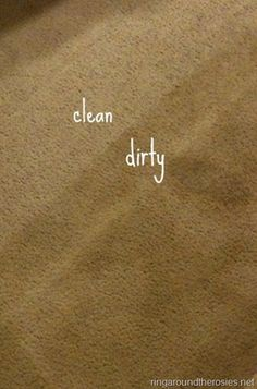 wow! how to naturally clean your carpets without any fumes or chemicals