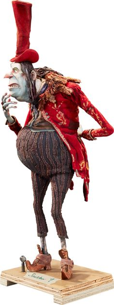 Animation Art:Puppet, The Boxtrolls Archibald Snatcher Original Animation Puppet(LAIKA, 2014)....