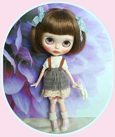 Blythe doll outfit* dress* top* bloomers* socks*