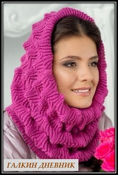 Knitted Hats, Knitting Patterns, Scarves, Handmade, Accessories, Fashion, Knitting And Crocheting, Tricot, Stitches