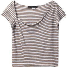 Le Prairies de Paris You Drape Neck Tee and other apparel, accessories and trends. Browse and shop 8 related looks.