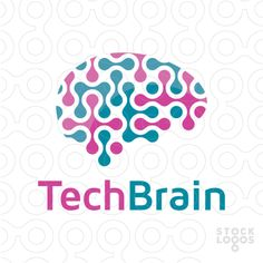 Exclusive Customizable Logo For Sale: Tech Brain Web Technology | StockLogos.com