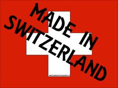 Sweet and That's it: MADE IN SWITZERLAND Switzerland, Calm, Sweet, How To Make, Candy