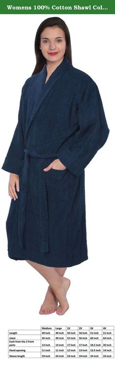 Women's Cotton Robe | Products, Robes and Women's
