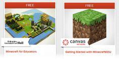 Dos cursos gratuitos para educadores sobre Minecraft y gamificación. #elearning #MOOC #gamificacion