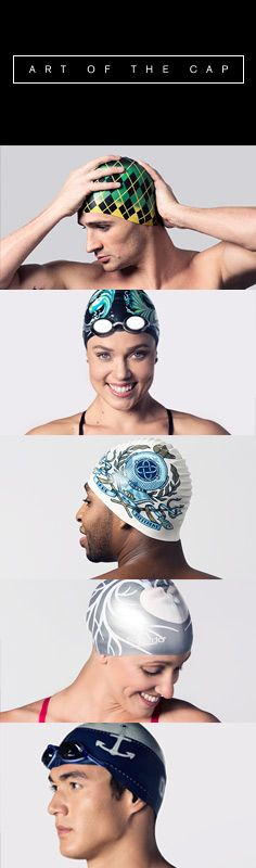 Five Olympic swimmers, five inspiring artists, creating limited-edition swim caps for five worthy causes. Speedo USA's Art of the Cap launches 12/09/13