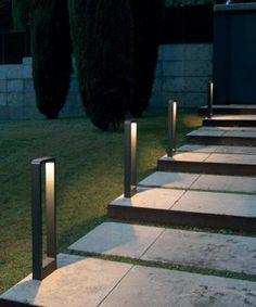 Lampade Per Giardino Da Terra.20 Fantastiche Immagini Su Luci Giardino Luci Esterno E