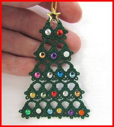 Tatting 80 - Free-Standing Christmas Tree Tatting Designs by Murphy's Designs
